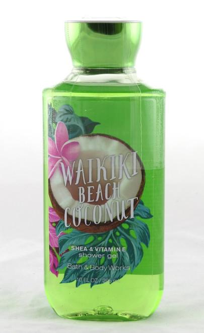 Waikiki Beach Coconut Shower Gel Bath and Body Works 10oz