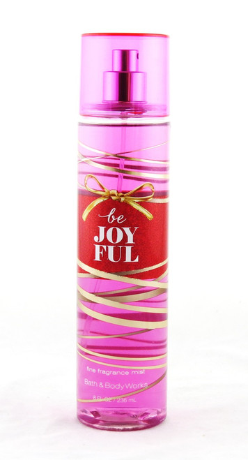 Be Joyful Fine Fragrance Mist Bath and Body Works 8oz