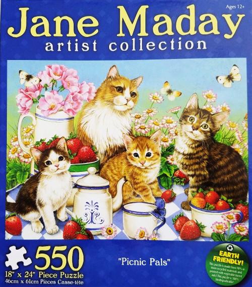 Picnic Pals 550 Piece Jigsaw Puzzle Jane Madey