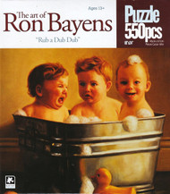 Rub A Dub Dub 550 Piece Jigsaw Puzzle Ron Bayens