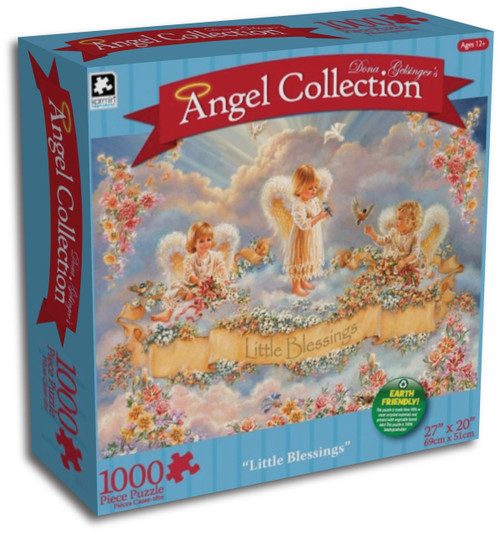 Little Blessings 1000 Piece Jigsaw Puzzle Dona Gelsinger Angel Collection