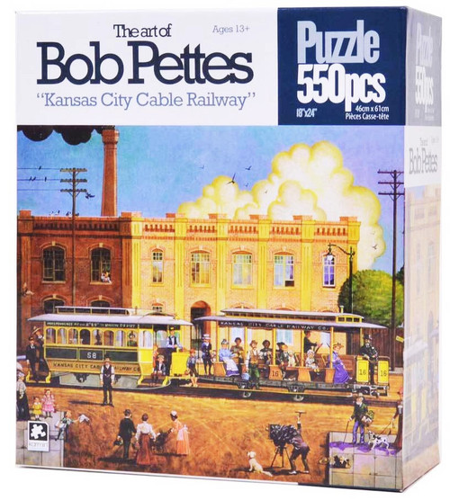 Kansas City Cable Railway 550 Piece Jigsaw Puzzle Bob Pettes