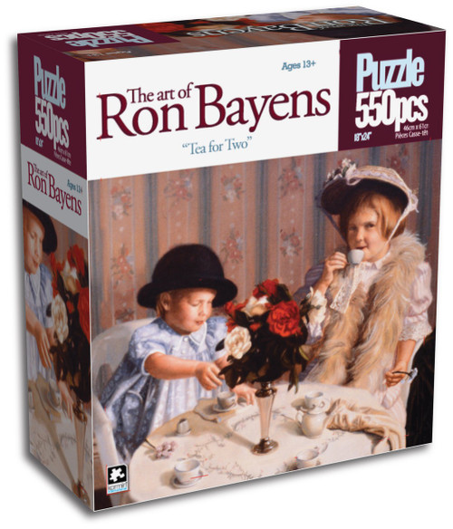 Tea For Two 550 Piece Jigsaw Puzzle Ron Bayens