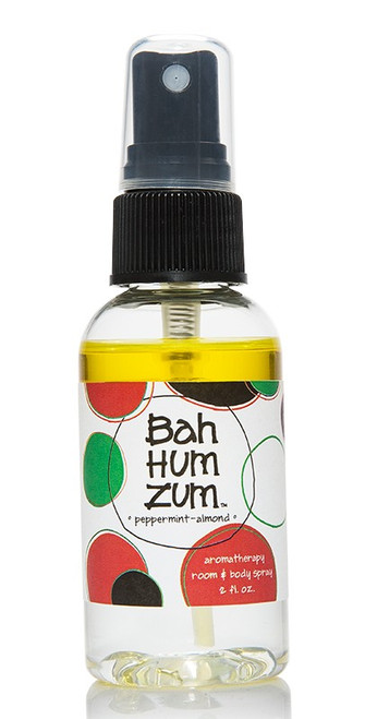 Bah Hum Zum Peppermint Almond Mini Room and Body Mist Indigo Wild 2oz