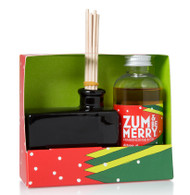 Zum Be Merry Frankincense Fir Zum Whiff Stick Diffuser Set Indigo Wild