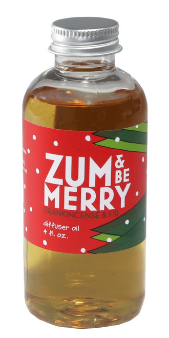 Zum Be Merry Frankincense Fir Zum Whiff Stick Diffuser Fragrance Oil Refill Indigo Wild 4oz