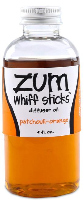 Patchouli Orange Zum Whiff Stick Diffuser Fragrance Oil Refill Indigo Wild 4oz