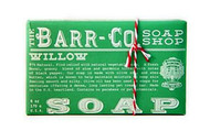 Willow Natural Bar Soap Barr-Co Soap Shop 6oz