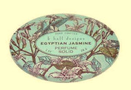 Egyptian Jasmine Solid Perfume K. Hall Design Decorative Tin 1oz