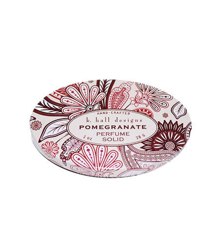 Pomegranate Solid Perfume K. Hall Design 1oz