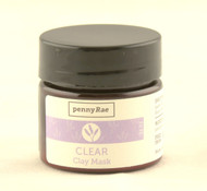 Clear Lavender Tea Tree French Clay Face Mask MINI Travel Size pennyRae 0.5oz