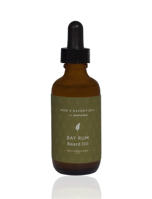 Bay Rum Beard Hair Grooming Oil pennyRae 2oz