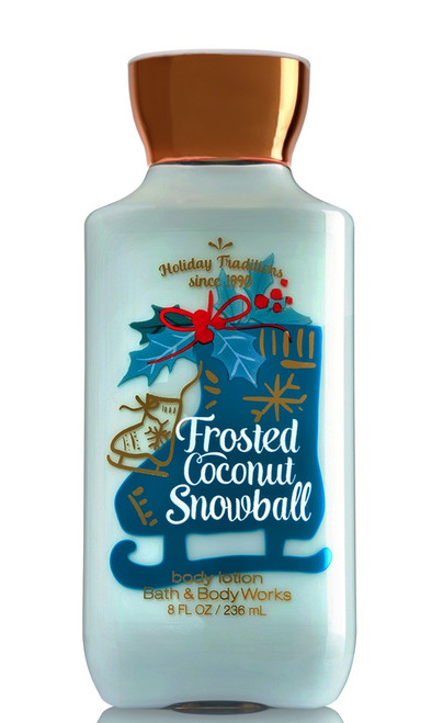 Frosted Coconut Snowball Body Lotion Bath and Body Works 8oz