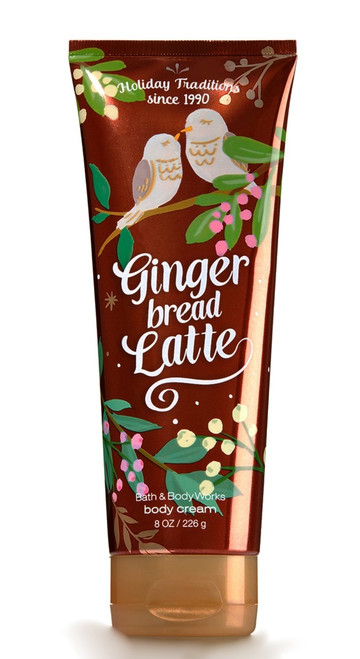 Gingerbread Latte Ultra Shea Body Cream Bath and Body Works 8oz