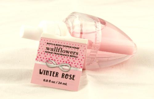 Winter Rose Wallflower Fragrance Bulb Refill Bath and Body Works 0.8oz