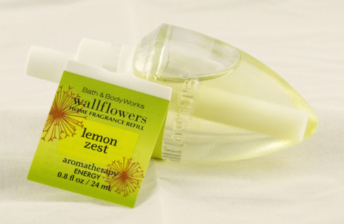 Lemon Zest Wallflower Fragrance Bulb Refill Bath and Body Works 0.8oz