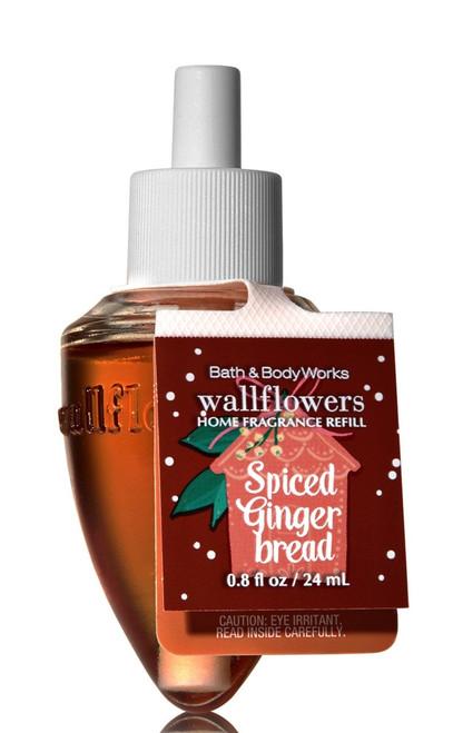 Spiced Gingerbread Wallflower Fragrance Bulb Refill Bath and Body Works 0.8oz