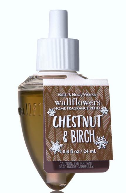 Chestnut & Birch Wallflower Fragrance Bulb Refill Bath and Body Works 0.8oz