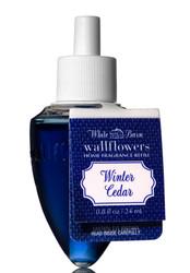 Winter Cedar Wallflower Fragrance Bulb Refill Bath and Body Works 0.8oz