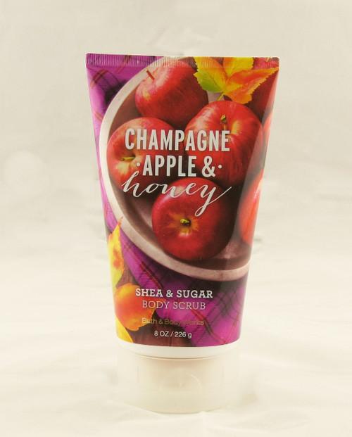 Champagne Apple & Honey Shea and Sugar Body Scrub Bath and Body Works 8oz