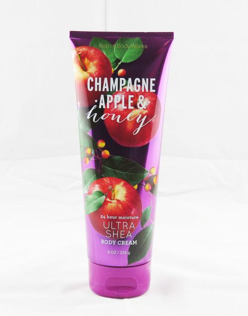 Champagne Apple & Honey Ultra Shea Body Cream Bath and Body Works 8oz