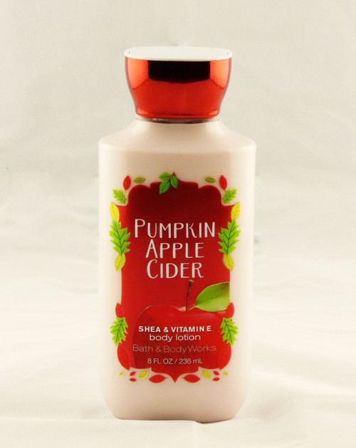 Pumpkin Apple Cider Body Lotion Bath and Body Works 8oz