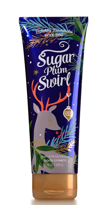 Sugar Plum Swirl Ultra Shea Body Cream Bath and Body Works 8oz