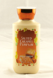 Salted Caramel Pumpkin Body Lotion Bath and Body Works 8oz