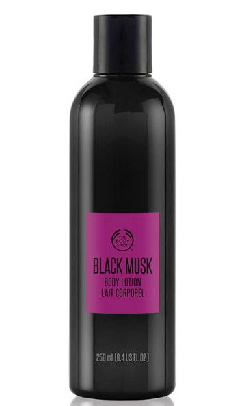 Black Musk Body Lotion The Body Shop 8.4oz