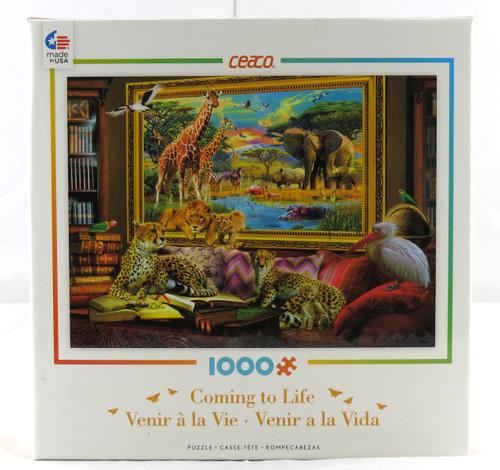 Savannah Coming To Life 1000 Piece Jigsaw Puzzle Jan Patrik Krasny Ceaco
