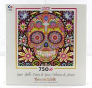 Desi Sugar Skulls 750 Piece Jigsaw Puzzle Thaneeya McArdle Ceaco