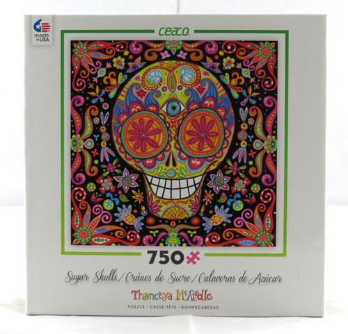 Momento Mori III Sugar Skulls 750 Piece Jigsaw Puzzle Thaneeya McArdle Ceaco