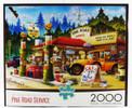 Pine Road Service Station 2000 Piece Jigsaw Puzzle Hiro Tani Kawa Buffalo Games