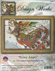 Peace Angel Counted Cross Stitch Kit Peter Church Design Works