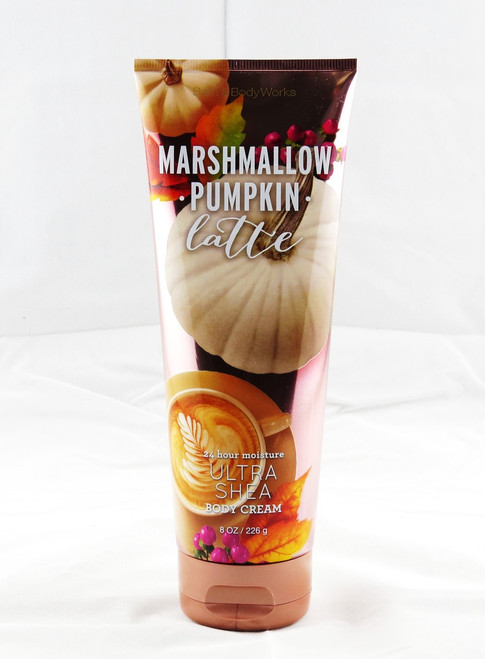 Marshmallow Pumpkin Latte Ultra Shea Body Cream Bath and Body Works 8oz