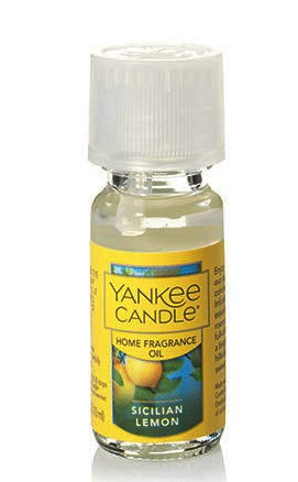 Sicilian Lemon Home Fragrance Oil Yankee Candle 0.3oz