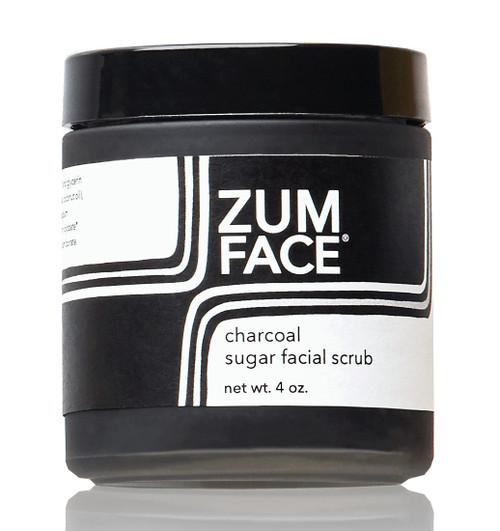 Charcoal Zum Face Sugar Facial Scrub Indigo Wild 4oz