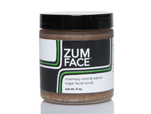 Rosemary Mint Walnut Zum Face Sugar Facial Scrub Indigo Wild 4oz