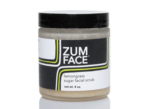 Lemongrass Zum Face Sugar Facial Scrub Indigo Wild 4oz
