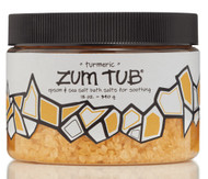 Turmeric Zum Tub Bath Salts Indigo Wild 12oz