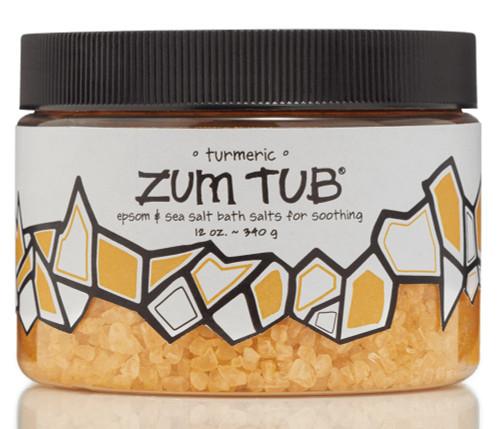 Turmeric Zum Tub Bath Salts Indigo Wild 12oz