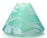 Tahitian Mist Frosted Glass Jar Shade Yankee Candle