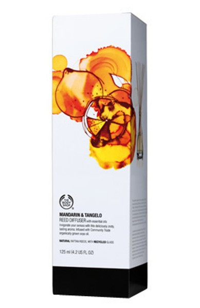 Mandarin and Tangelo Reed Diffuser Kit The Body Shop