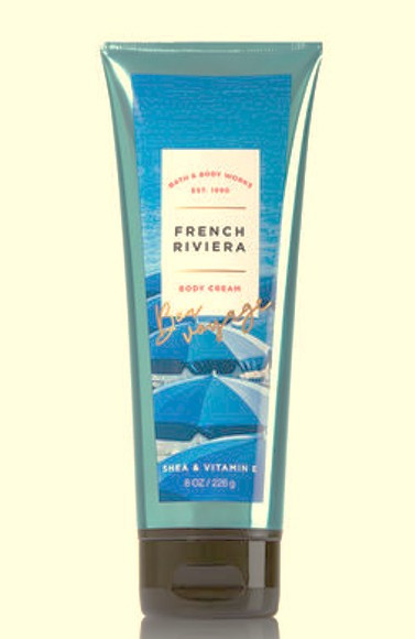 French Riviera Body Cream Bath and Body Works 8oz