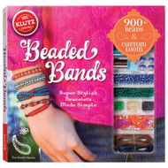 Beaded Bands Art Craft Kit Book Klutz