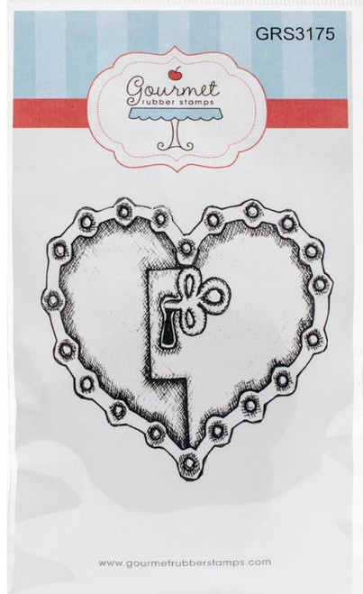 Unchain My Heart Cling Rubber Stamp Gourmet