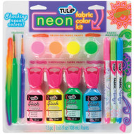 Neon Fabric Color Activity Craft Kit Tulip