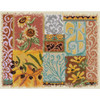 Tuscany Abstract Counted Cross Stitch Kit Candamar