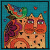 Feathered Friends Counted Cross Stitch Kit Laurel Burch Mill Hill