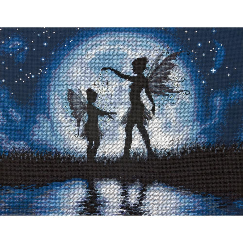 Twilight Silhouette Counted Cross Stitch Kit Dimensions